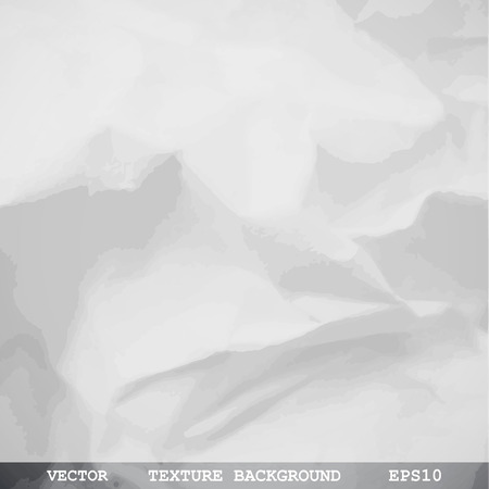 crumpled: Designed texture of crumpled paper - Vector background