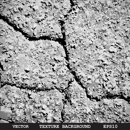 asphalt: Designed grunge asphalt texture - Vector background Illustration