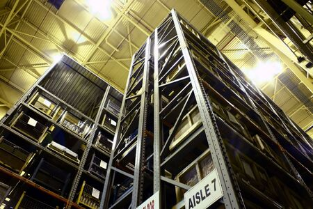 High-rise Industrial Parts Warehouse.