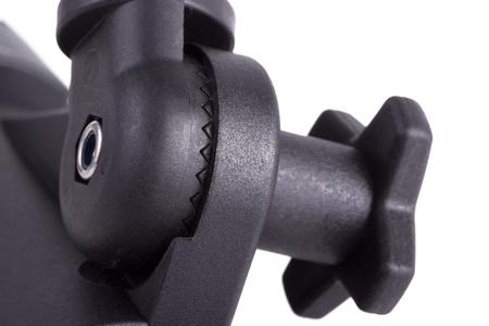 undulatory: Regulator mechanism undulating surface allows to fix in a large angle range Stock Photo
