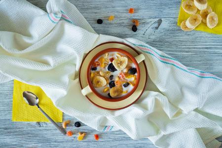 Muesli healthy breakfast