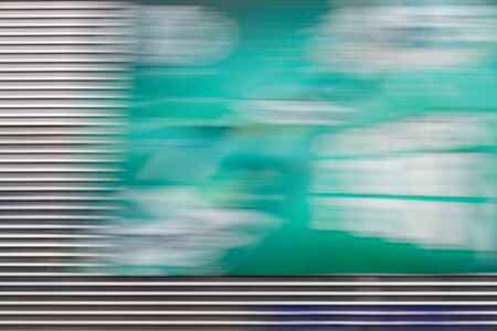 Abstract green background with horizontal lines