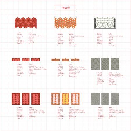 Patterned Wall Catalogue Diagram
