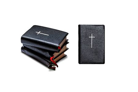bible isolate on white background.
