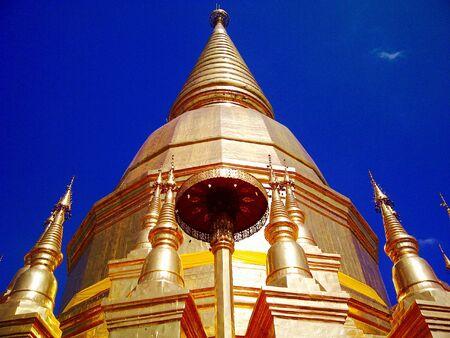 lanna: Lanna pagoda 2 Stock Photo