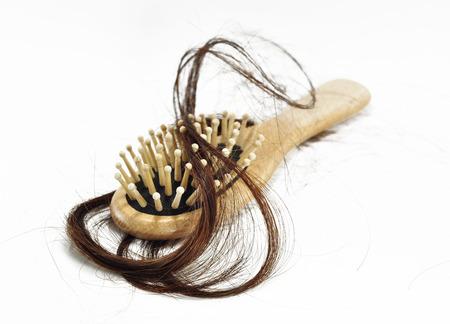 Problema de pérdida de pelo Foto de archivo - 23214200