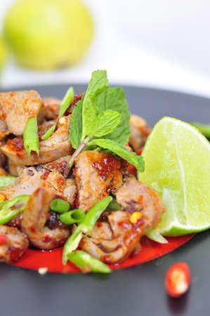 carne macinata: Thai insalata piccante di carne macinata