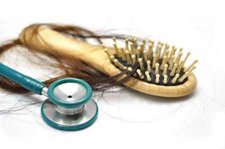stetoscope: stetoscope and hair loss problem