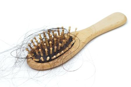 Problema de pérdida de cabello Foto de archivo - 28645218