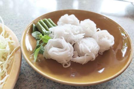 vermicelli: Fideos del arroz