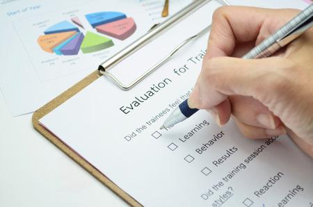 satisfy: Evaluation form