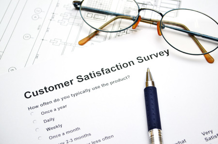 Customer service survey photo