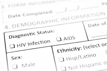 HIV Test form