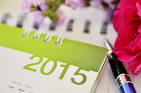 calendar of 2015 Stock Photo