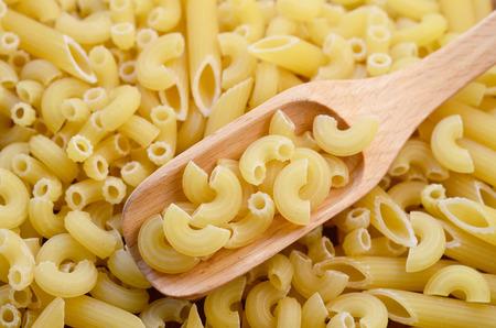 Italian pasta. Dry pasta Stock Photo