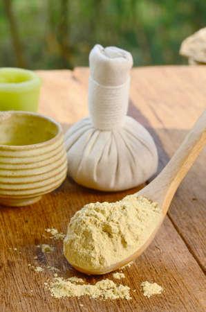 thai spa: Thai spa set