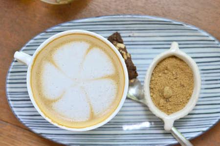 capuchino: coffee cup Stock Photo
