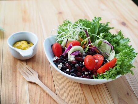 fresh salad vegetable Stock Photo