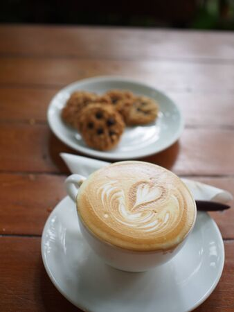 capuchino: cup coffee Stock Photo