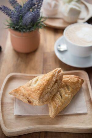 Delicious pies during tea breaks