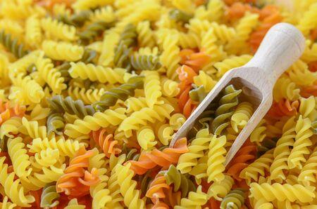 dry macaroni raw food