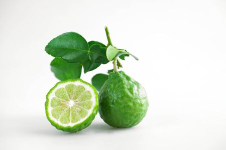 bergamot Thai herb for spa and hair treatment for hair loss problem Stock Photo
