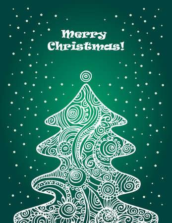 Christmas tree Stock Vector - 15857955
