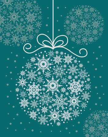 Christmas decorative ball  Vector