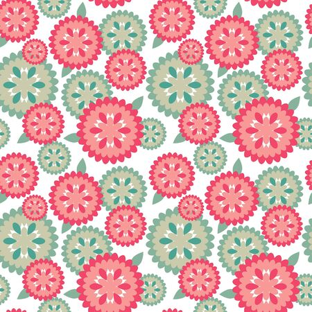 accent abstract: Floral pattern