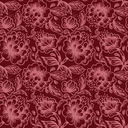 Floral seamless pattern Stock Vector - 15858554