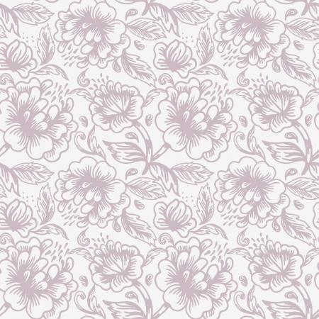 Floral seamless pattern Stock Vector - 15858552