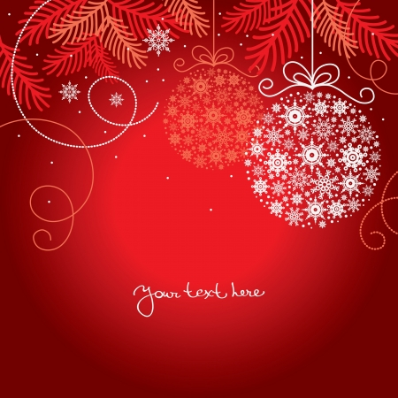 festive season: Elegant christmas background
