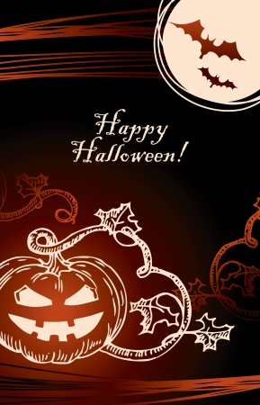 Halloween background Stock Vector - 15858320