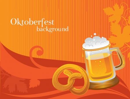 blau weiss: Oktoberfest celebration background