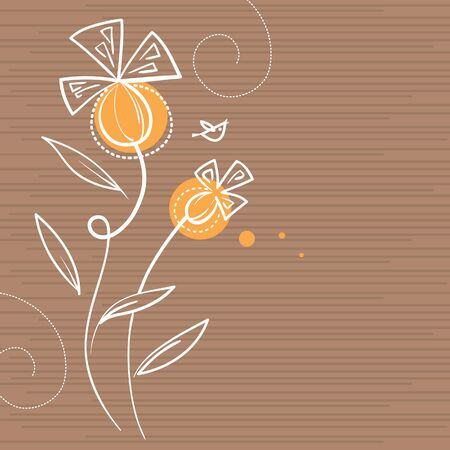Floral background Stock Vector - 15858300