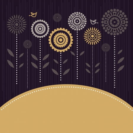 Floral background Stock Vector - 15858392
