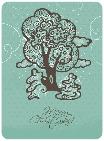 Christmas card Stock Vector - 15905027