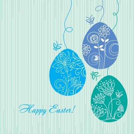 Easter background Stock Vector - 15907208