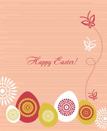 Easter background Stock Vector - 15907200