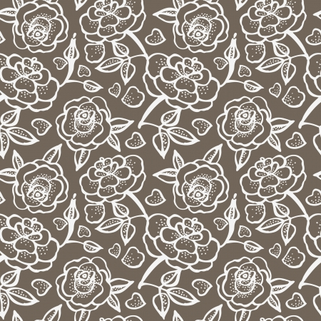 Seamless floral pattern Stock Vector - 15907325