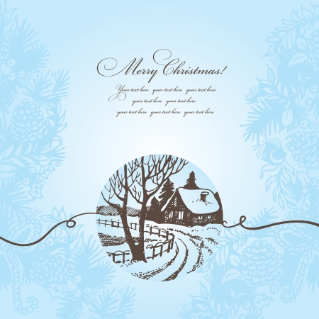 Christmas background Stock Vector - 16200747
