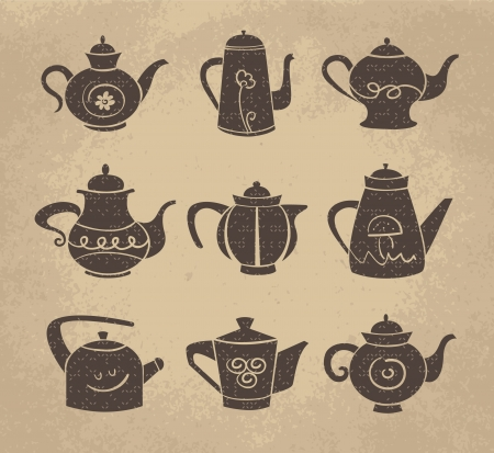 Set of teaport