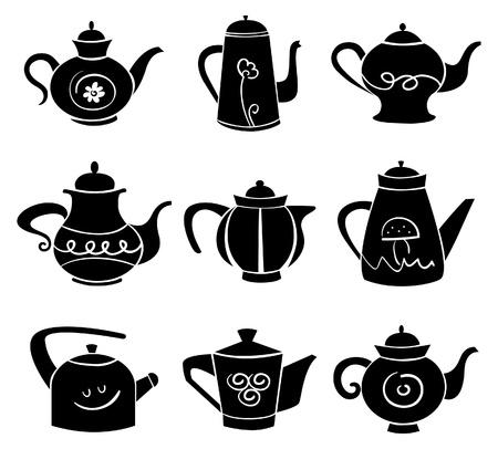 Set van teaport