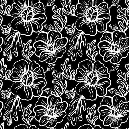 Seamless floral pattern  Stock Vector - 16201422