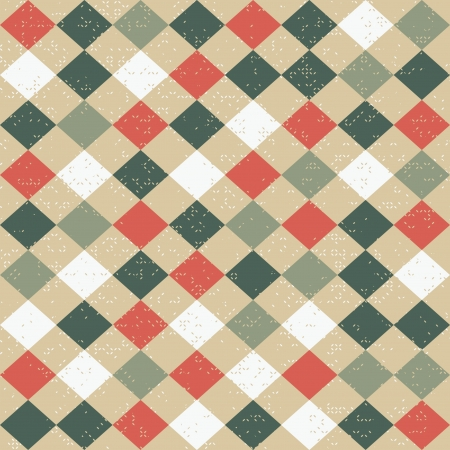 textura lana: Seamless pattern Retro Vectores
