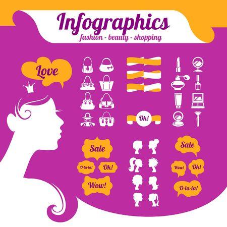 infogaphics: Fashion womens infographics