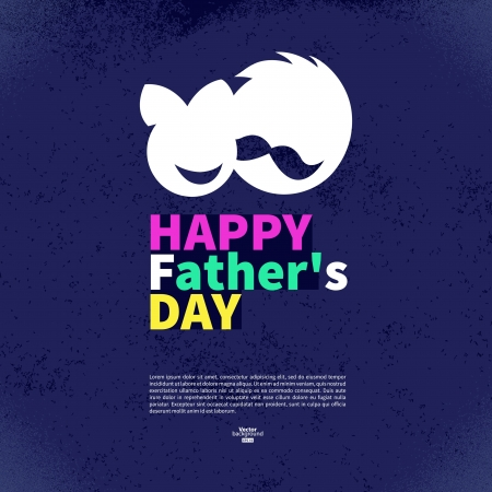 kid s illustration: Happy Father
