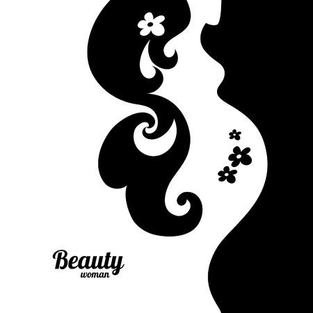 Schwangere Frau Silhouette Standard-Bild - 22913060