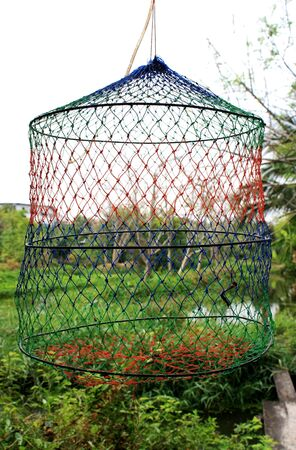 bretagne: Fishing net and easy removable text