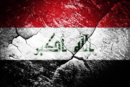 iraq war: Iraq, flag, Iraq flag, war, conflict, worn, distressed